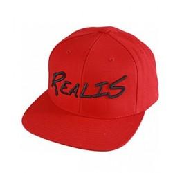 Realis Snapback Cap 18 Red