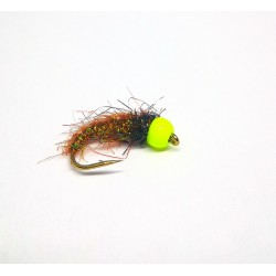 Nymph tungsten Brown/green