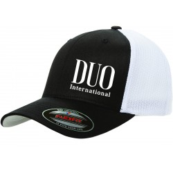 Duo Flexfit Cap Black/White